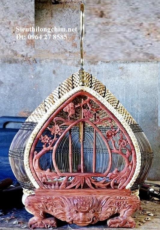Lồng chim cu gáy mặt hổ phù- Hàng Nghệ nhân