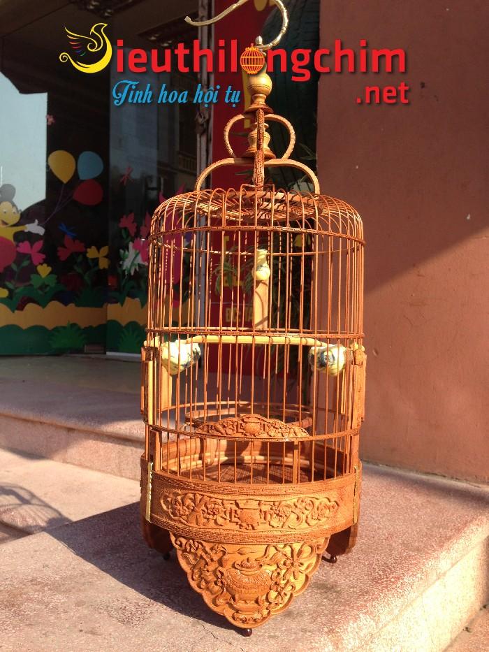 Lồng chim Mẫu Mới Khuyên đục  Lư Đồng