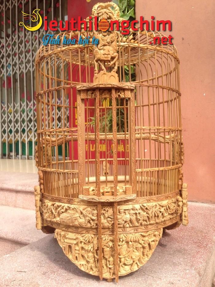 Lồng chim Mi đục Vinh Quy Bái Tổ